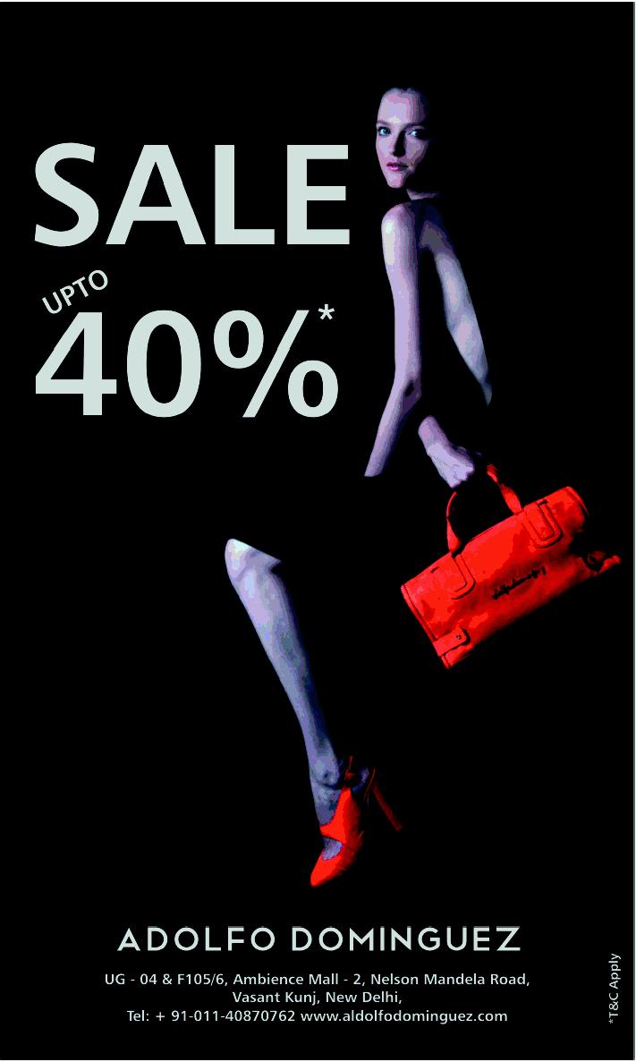 adolfo dominguez sale upto 40 off starts on 06th jan 2012 On adolfo dominguez sale