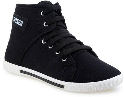 Flipkart-Oricum Boxer-303 Sneakers (Black) Rs. 297 starts ...