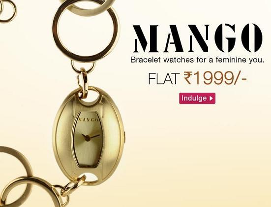 Fashionandyou.com-Buy Party Ready Mango Braclet Watches   Flat Rs ... f6ffde3ee