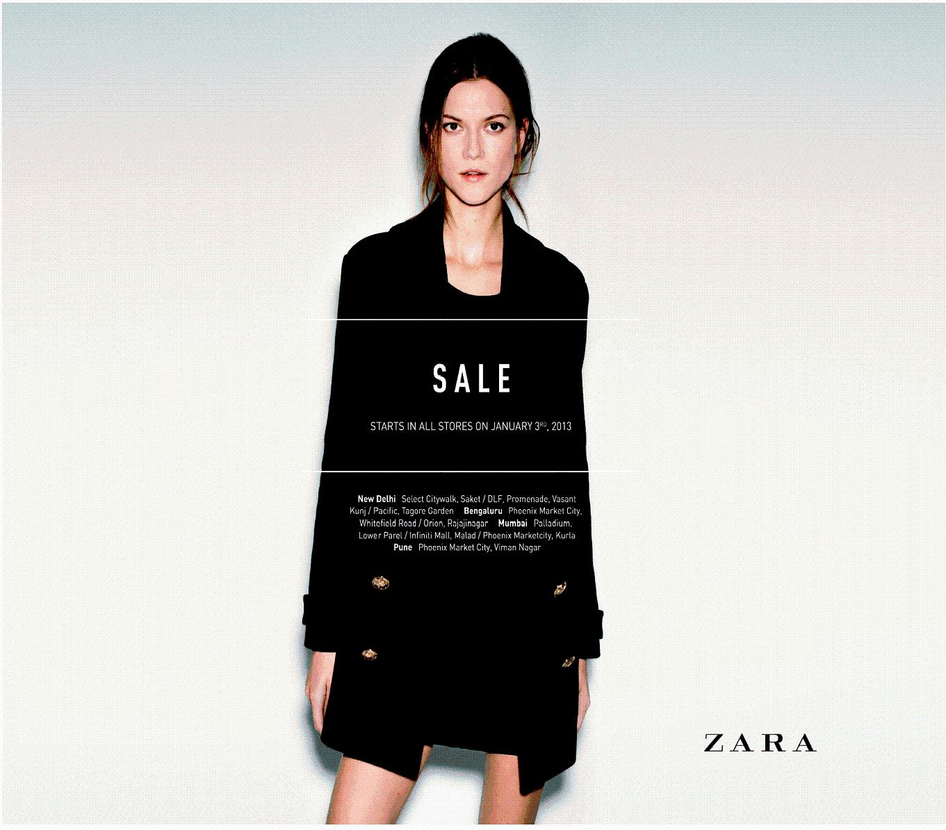 Zara Semi-Annual Sale December 2012 , POPSUGAR Fashion